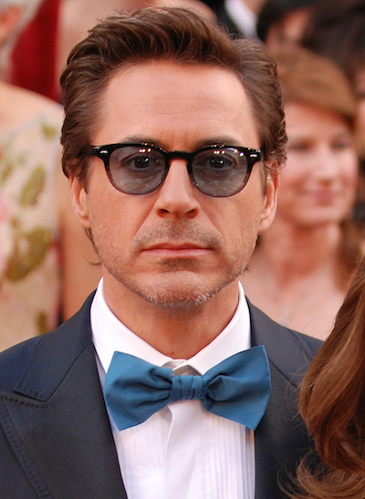 Robert Downey Jr. and wife Susan arrive at the 82nd Academy Awards March 7, 2010 in Hollywood.