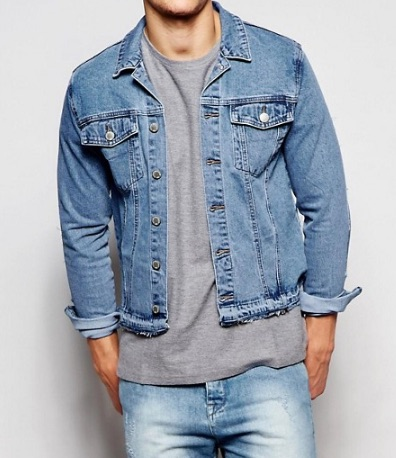 denim jacket for short men