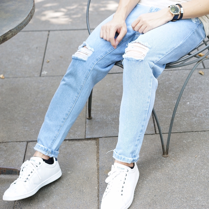 Ripped Jeans for Short Men Where to buy it