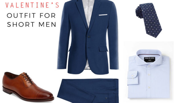 What to wear on Valentine's day for Short Men